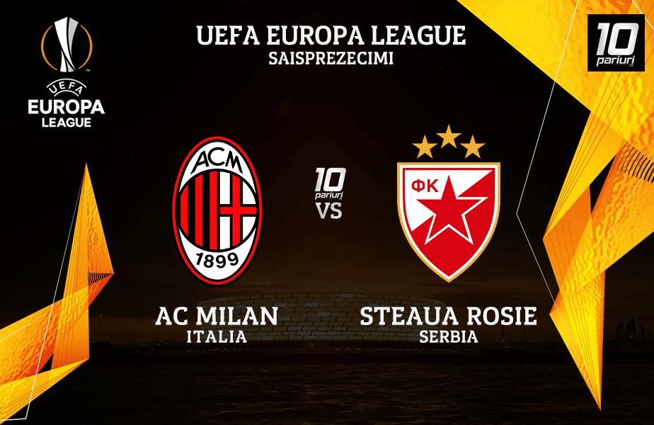 Milan Steaua Rosie Ponturi Pariuri