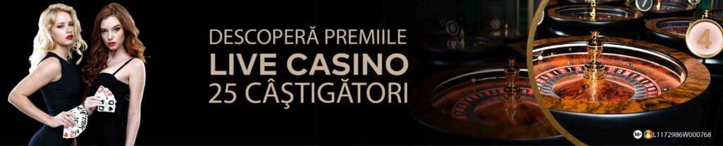Publicwin Live Casino Promotie