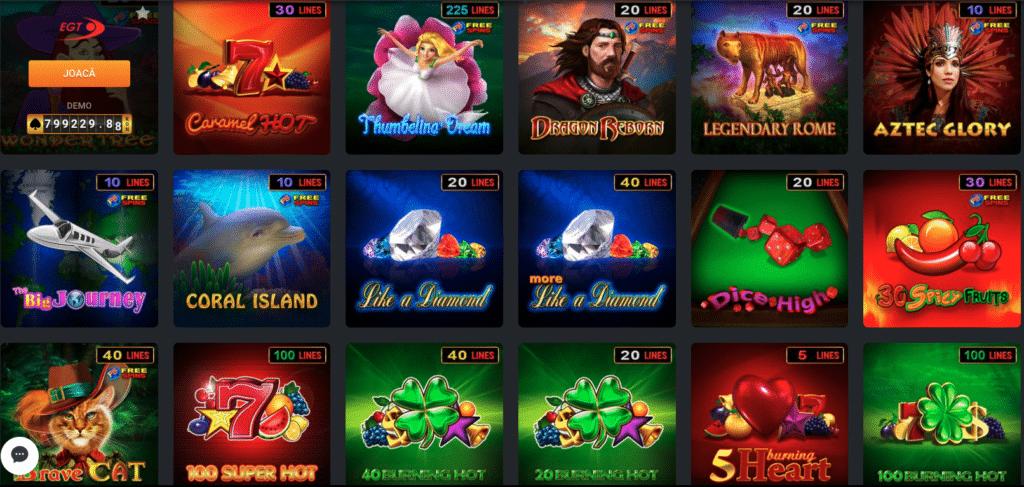 Sloturi Winbet Casino