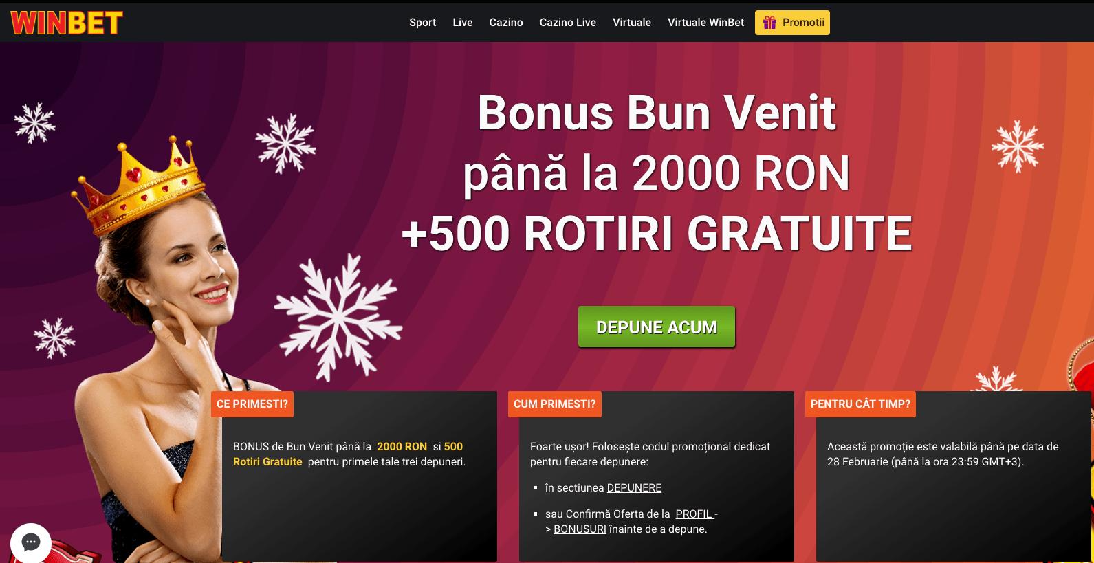 Winbet Bonus Bun Venit