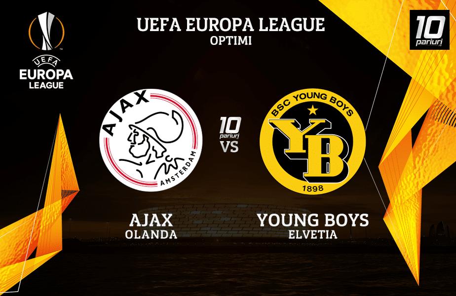 Ajax - Young Boys -pronosticuri pariuri 11032021