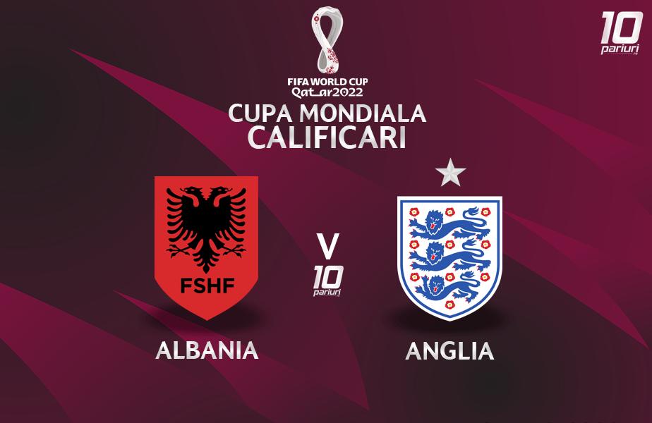 Albania - Anglia - pronosticuri pariuri 28032021