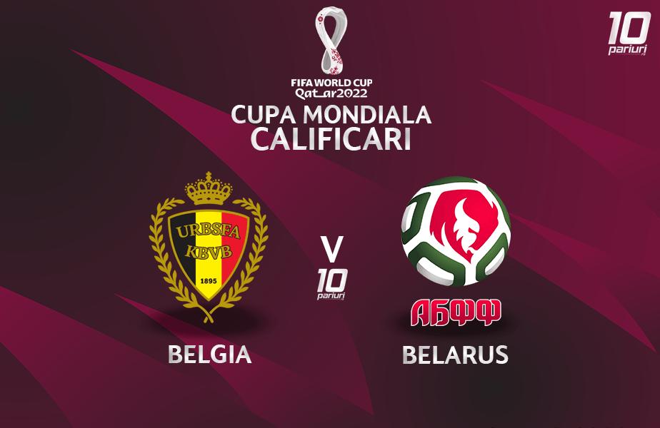 Belgia - Belarus - pronosticuri pariuri 30032021