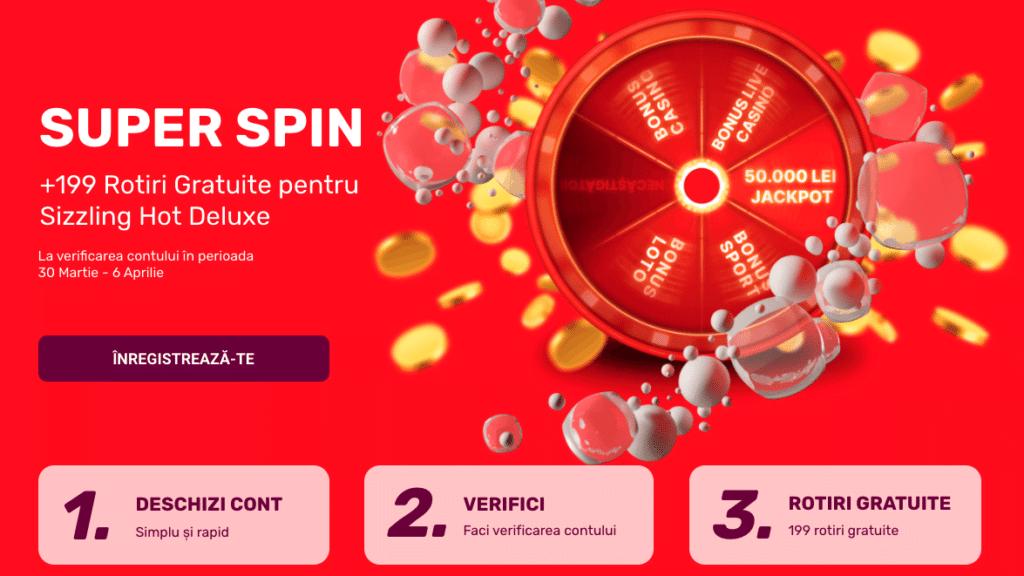 bonus rotiri gratis superbet casino