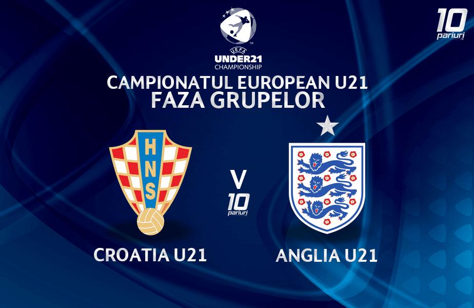 Croatia U21 Anglia U21 Ponturi Pariuri