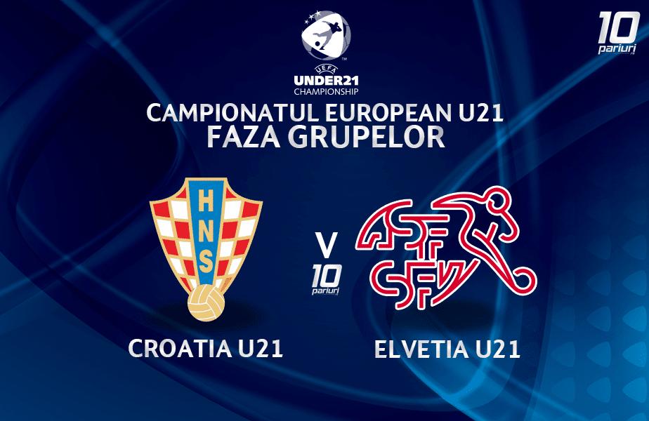 Croatia U21 Elvetia U21 Ponturi Pariuri