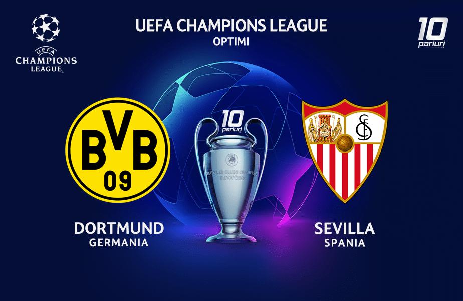 Dortmund Sevilla Ponturi Pariuri