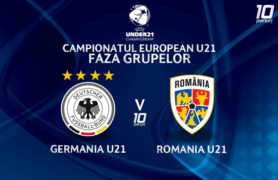 Germania U21 Romania U21 Ponturi Pariuri