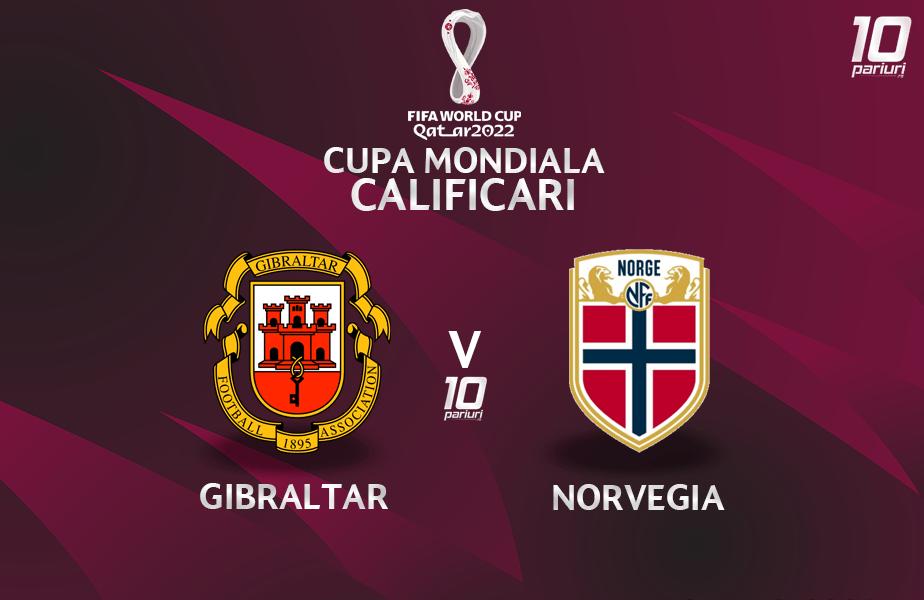 Gibraltar - Norvegia - Pronosticuri pariuri 25032021