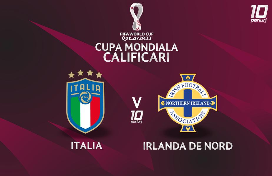 Italia - Irlanda De Nord - pronosticuri pariuri 25032021