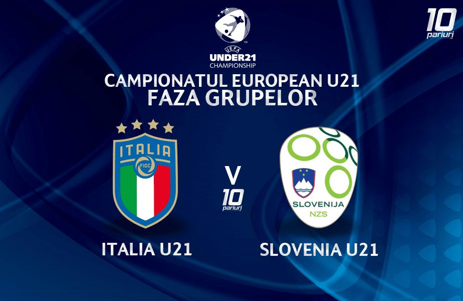 Italia U21 Slovenia U21 Ponturi Pariuri
