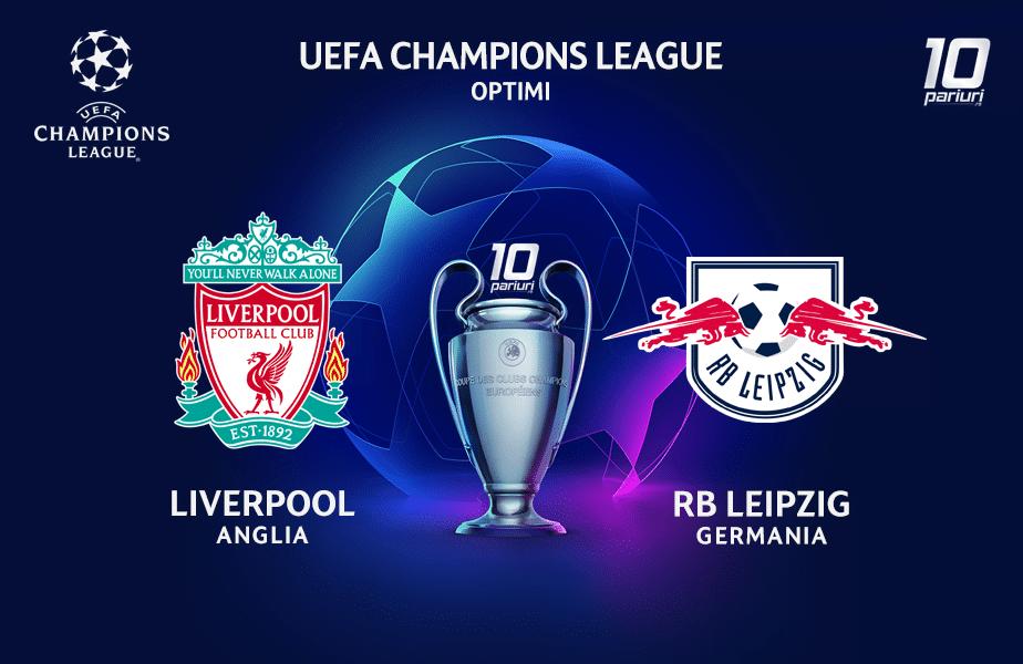 Liverpool Leipzig Ponturi Pariuri