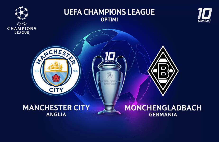 Manchester City Monchengladbach Ponturi Pariuri