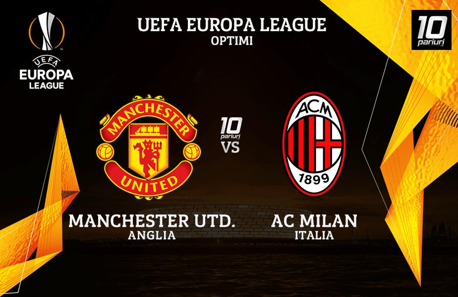 Manchester United Milan Ponturi Pariuri