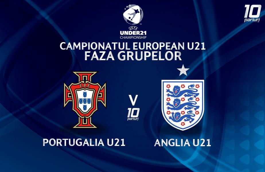 Portugalia U21 Anglia U21 Ponturi Pariuri