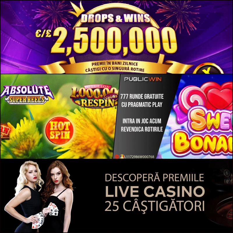 Promotii Publicwin Casino