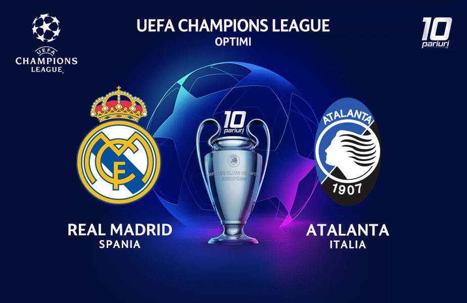 Real Madrid Atalanta Ponturi Pariuri