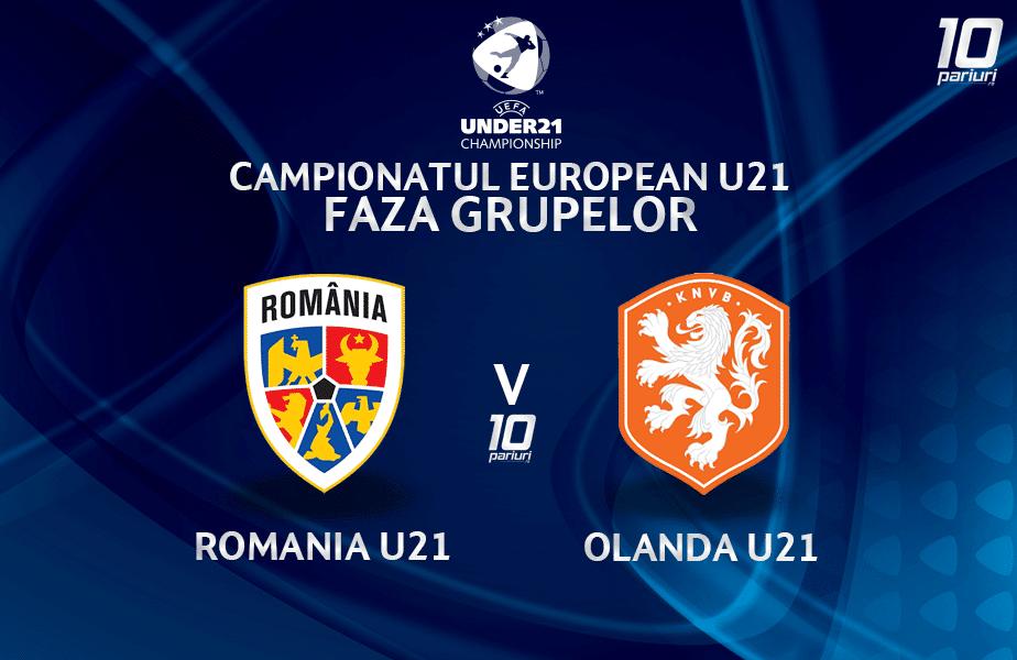 Romania U21 Olanda U21 Ponturi Pariuri