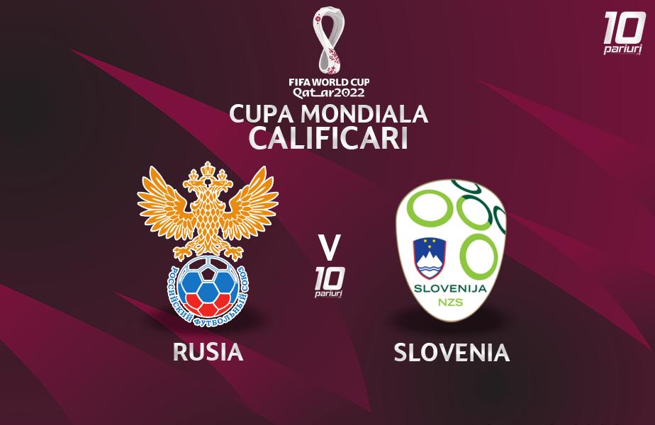 Rusia Slovenia Pariuri fotbal