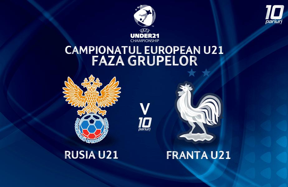 Rusia U21 Franta U21 Ponturi Pariuri