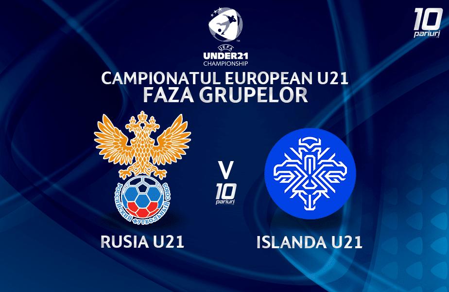 Rusia U21 Islanda U21 Ponturi Pariuri