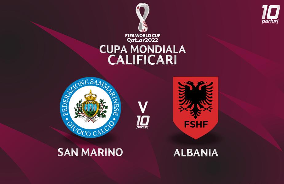 San Marino Albania Ponturi Pariuri