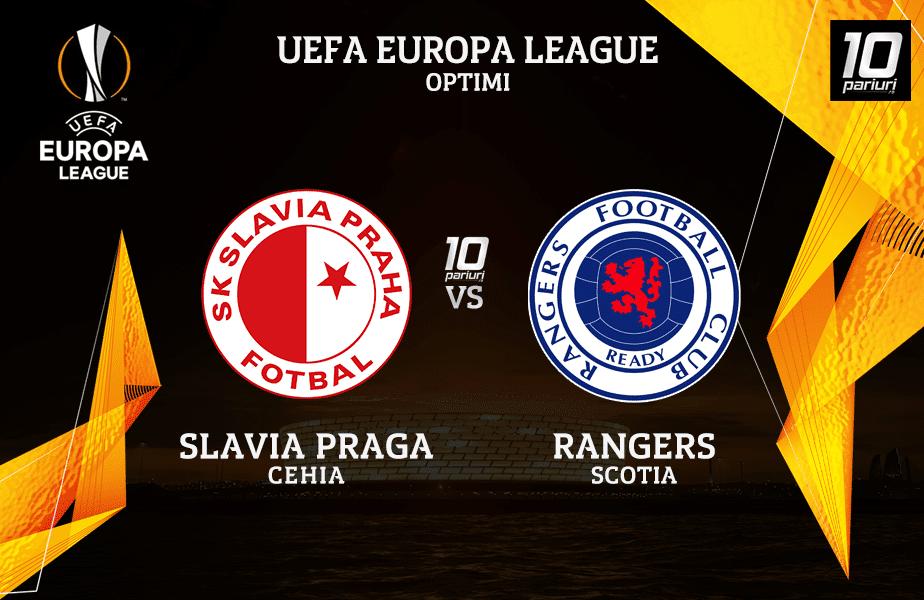 Slavia Praga Rangers Ponturi Pariuri