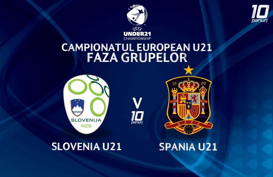 Slovenia U21 Spania U21 Ponturi Pariuri