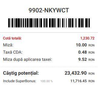 superbet dublu bonus bilet 15 16.05.2021