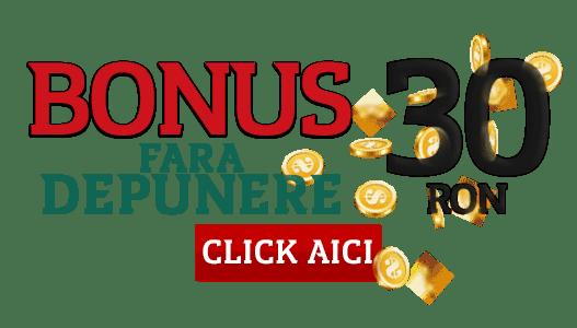 bonus fara depunere 30 ron winmasters