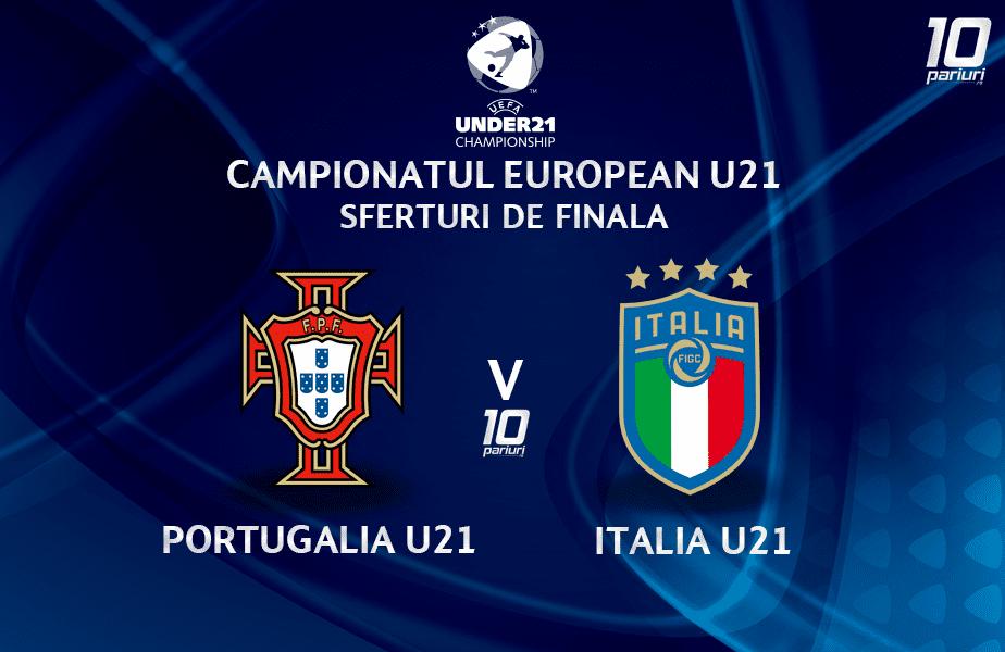 portugalia u21 italia u21 ponturi pariuri