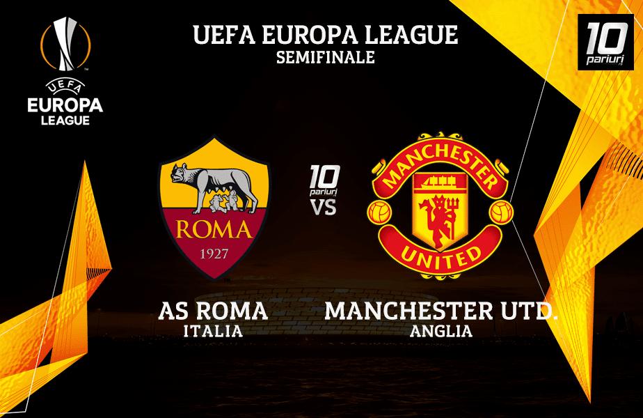 roma manchester united ponturi pariuri