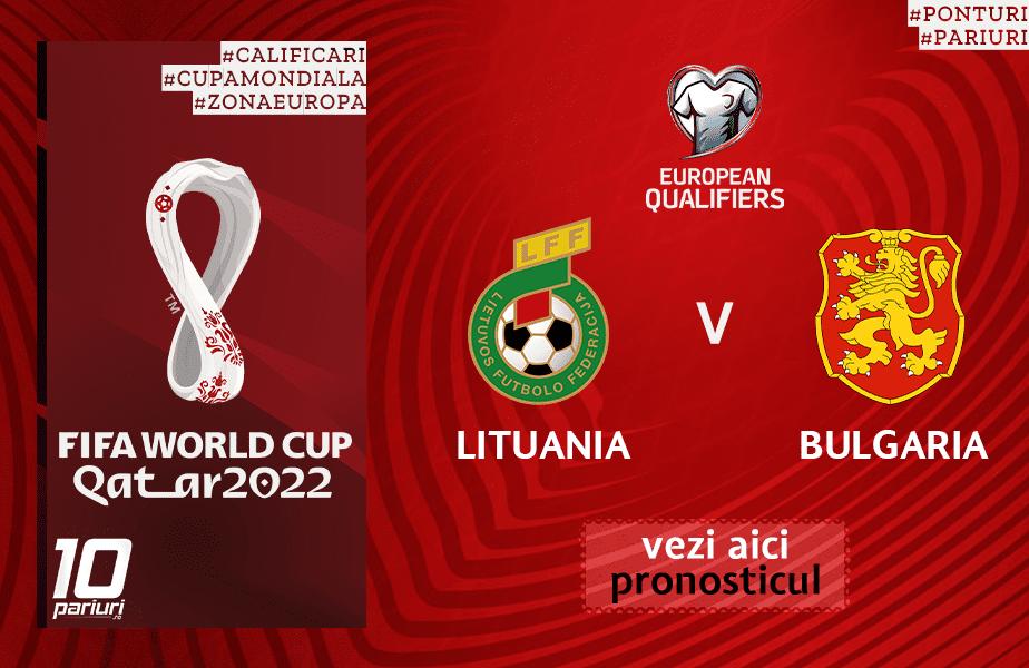 lituania bulgaria ponturi pariuri